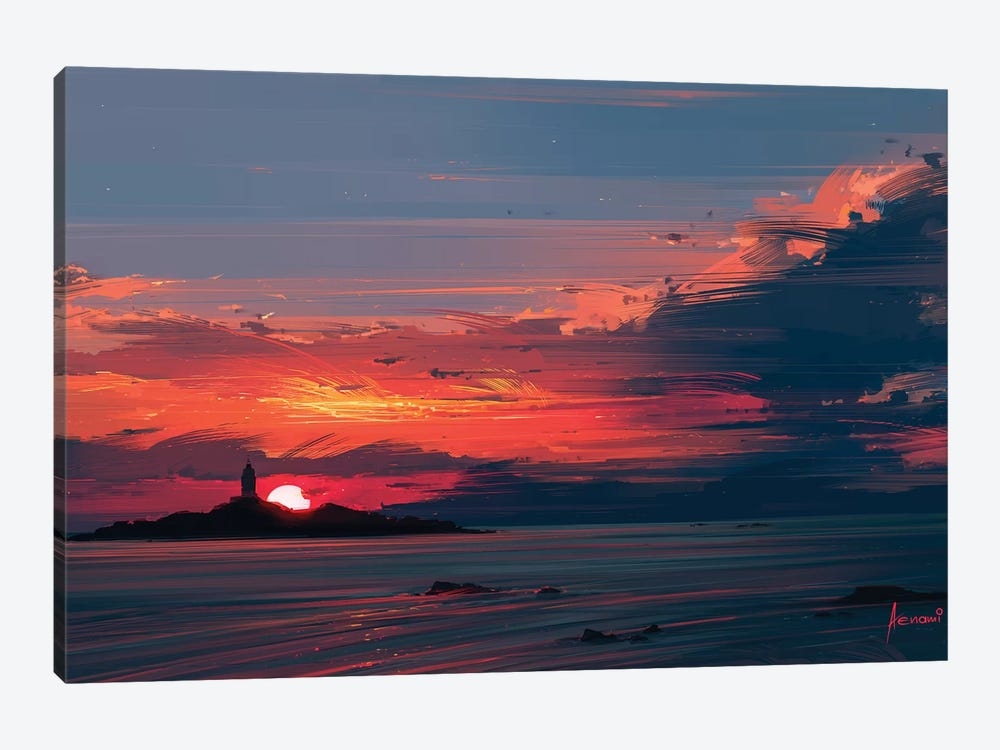 Close To The Sun by Alena Aenami 1-piece Canvas Print