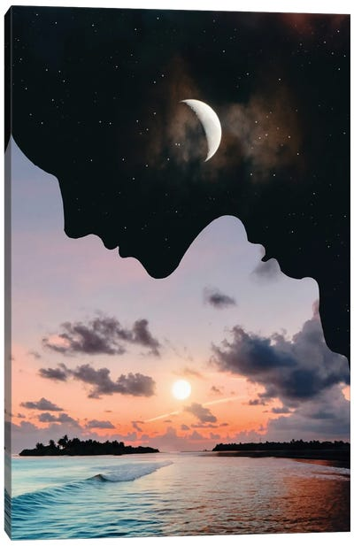 Day And Night Canvas Art Print