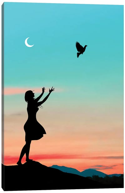 Free Bird Canvas Art Print
