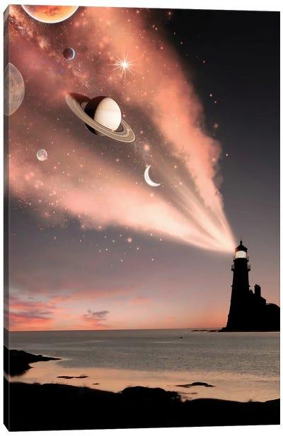 Lighthouse Light Canvas Art Print