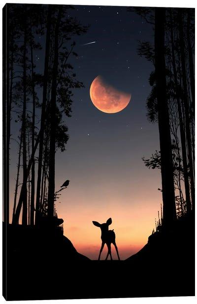Puppies Gazelle Canvas Art Print