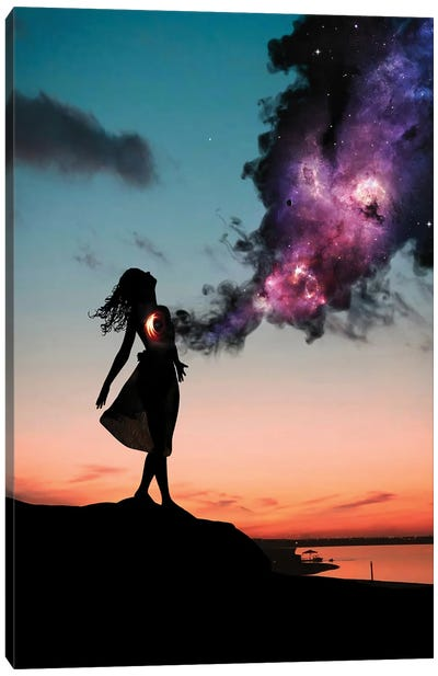 The Universe Within Us Canvas Art Print