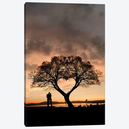 Tree And Heart Canvas Print #AEV46} by Abdullah Evindar Canvas Art