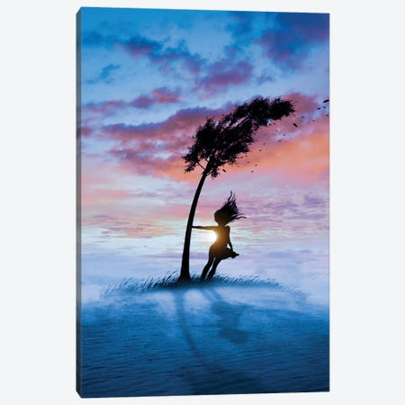 Storm Canvas Print #AEV55} by Abdullah Evindar Canvas Art Print