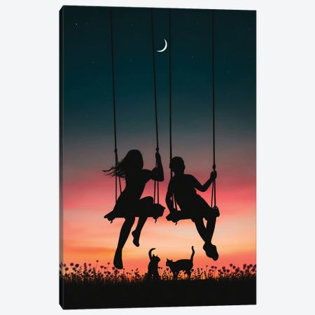 Once Upon A Time Canvas Print #AEV76} by Abdullah Evindar Canvas Print