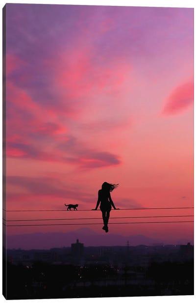 Evening View Canvas Art Print