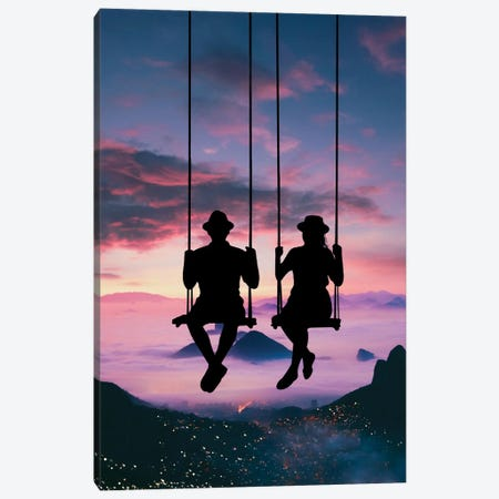 Sky Swing Canvas Print #AEV82} by Abdullah Evindar Canvas Print