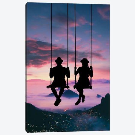 Sky Swing Canvas Print #AEV82} by Abdullah Evindar Canvas Print