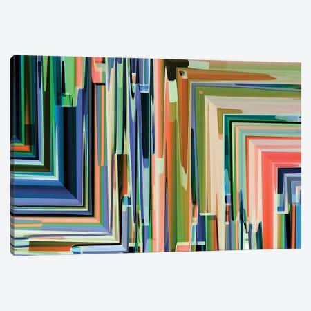 Corner Meeting Canvas Print #AEZ100} by Angel Estevez Canvas Artwork
