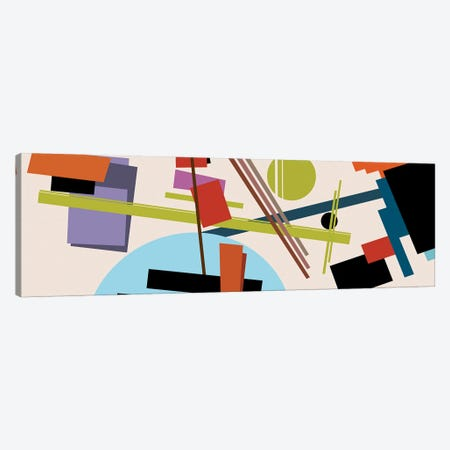 Homage To Malevich Canvas Print #AEZ101} by Angel Estevez Canvas Art