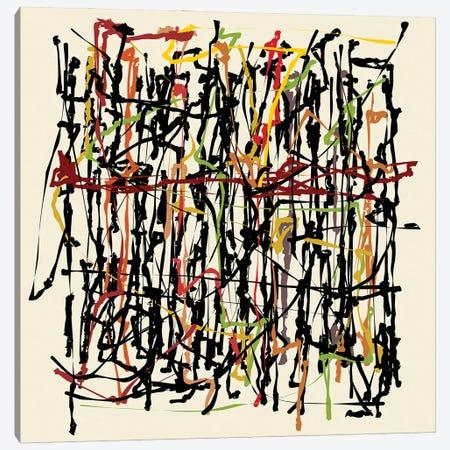 Pollock Wink Canvas Print #AEZ102} by Angel Estevez Canvas Wall Art