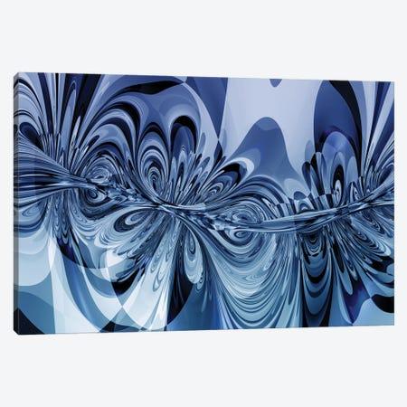 3D Sinuous Shapes Canvas Print #AEZ103} by Angel Estevez Canvas Art