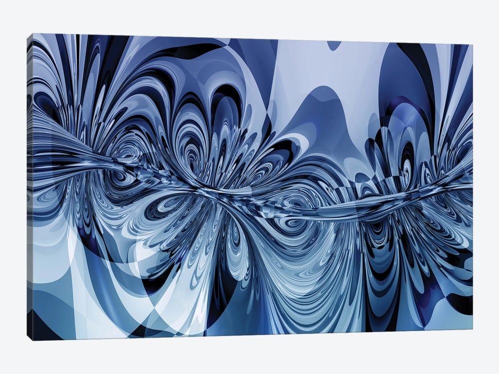 3D Sinuous Shapes by Angel Estevez 1-piece Canvas Art Print