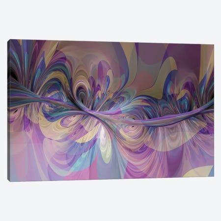 3D Sinuous Shapes II Canvas Print #AEZ104} by Angel Estevez Canvas Print