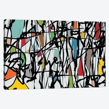 Pollock Wink III Canvas Print #AEZ105} by Angel Estevez Canvas Art Print