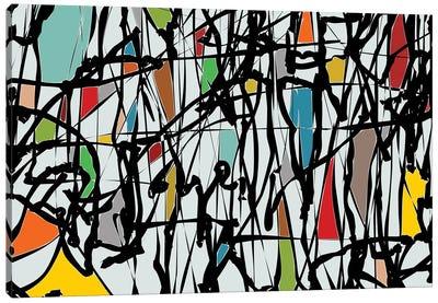 Pollock Wink III Canvas Art Print