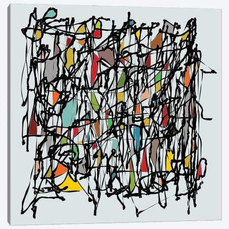 Pollock Wink II Canvas Print #AEZ106} by Angel Estevez Canvas Print