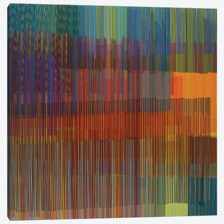 Multiple Colored Lines Canvas Print #AEZ109} by Angel Estevez Canvas Artwork
