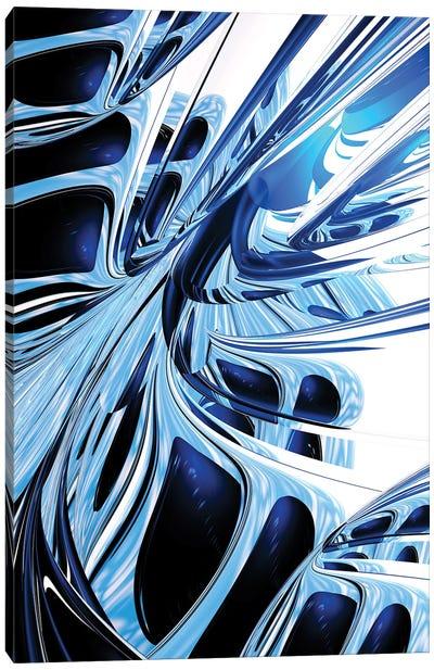 Metal Structures Canvas Art Print