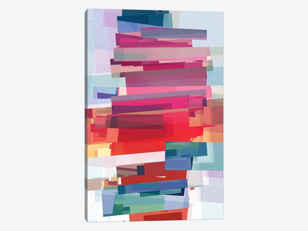 Construction With Rectangles by Angel Estevez 1-piece Art Print