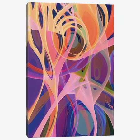 Mixing Of Colors And Shapes Canvas Print #AEZ115} by Angel Estevez Canvas Wall Art