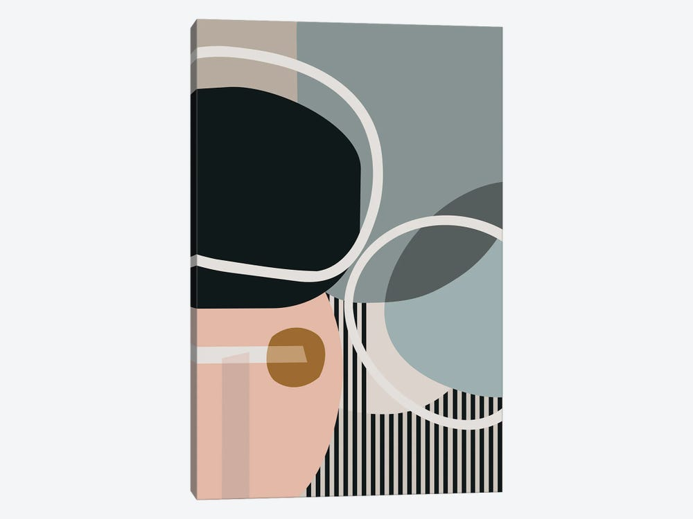 Hoops And Circles by Angel Estevez 1-piece Art Print