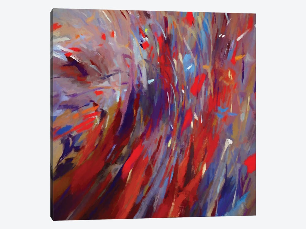 Multiple Strokes by Angel Estevez 1-piece Canvas Artwork