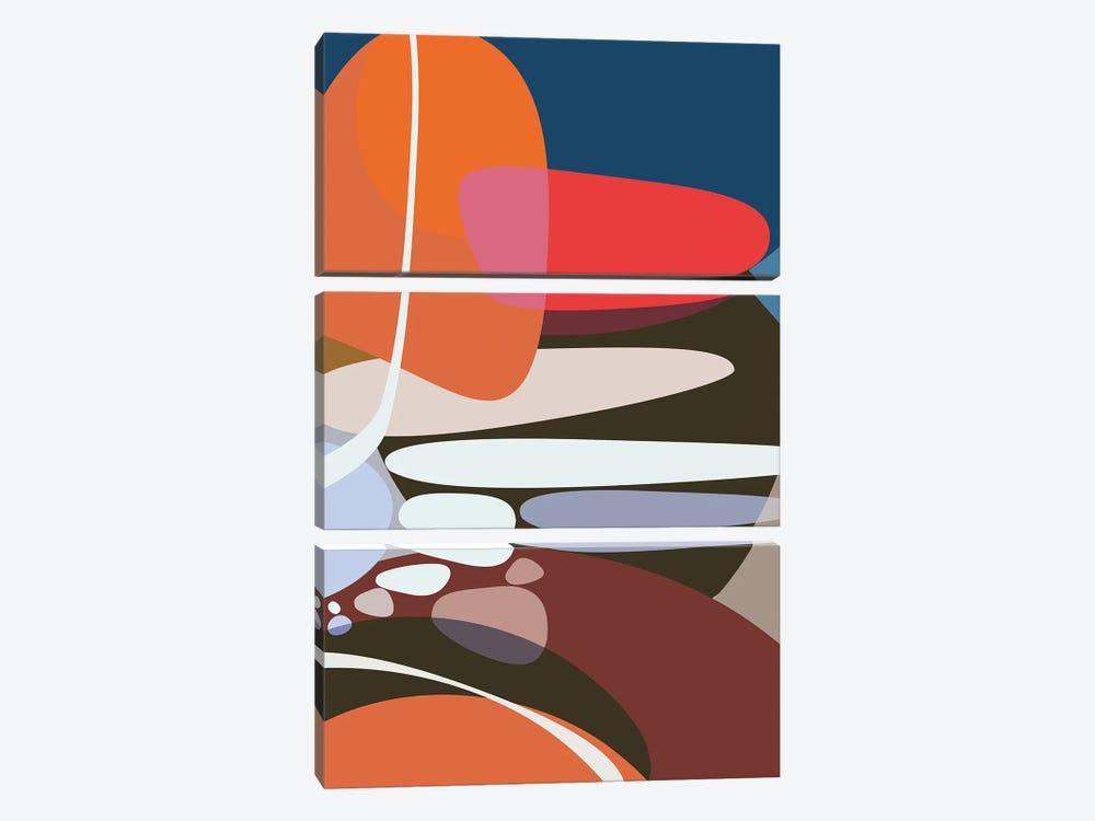 Step By Step by Angel Estevez 3-piece Canvas Art