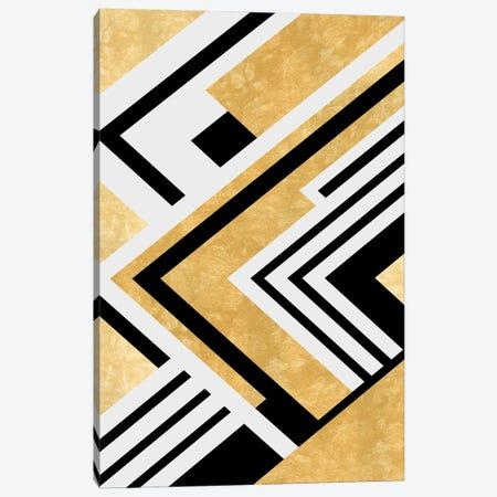 Diagonal Geometry Canvas Print #AEZ127} by Angel Estevez Canvas Art Print