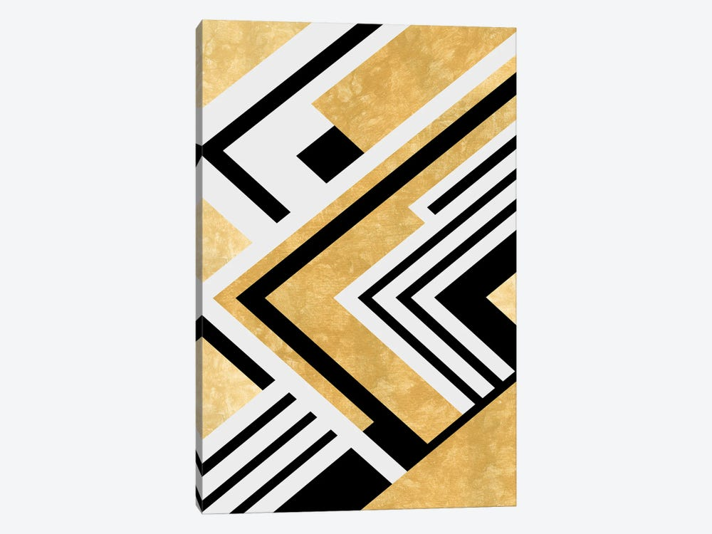 Diagonal Geometry by Angel Estevez 1-piece Art Print