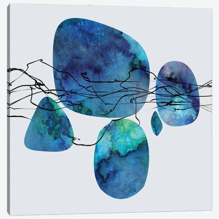 Blue Gems Canvas Print #AEZ133} by Angel Estevez Canvas Art Print