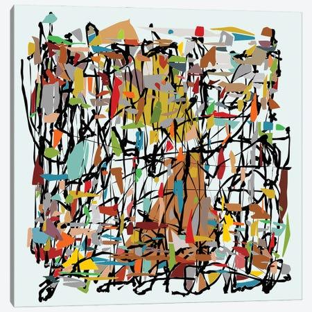 Lined With Patchwork Canvas Print #AEZ135} by Angel Estevez Canvas Artwork