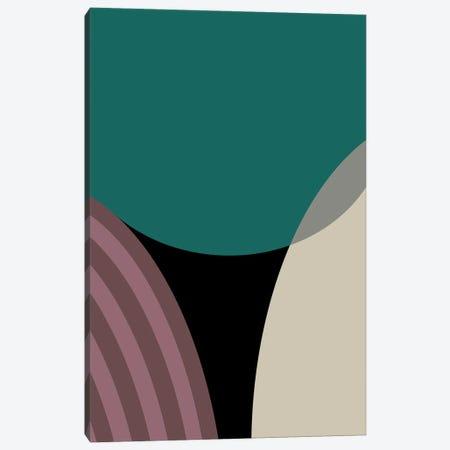 Meeting Of Semi Circles Canvas Print #AEZ136} by Angel Estevez Canvas Wall Art