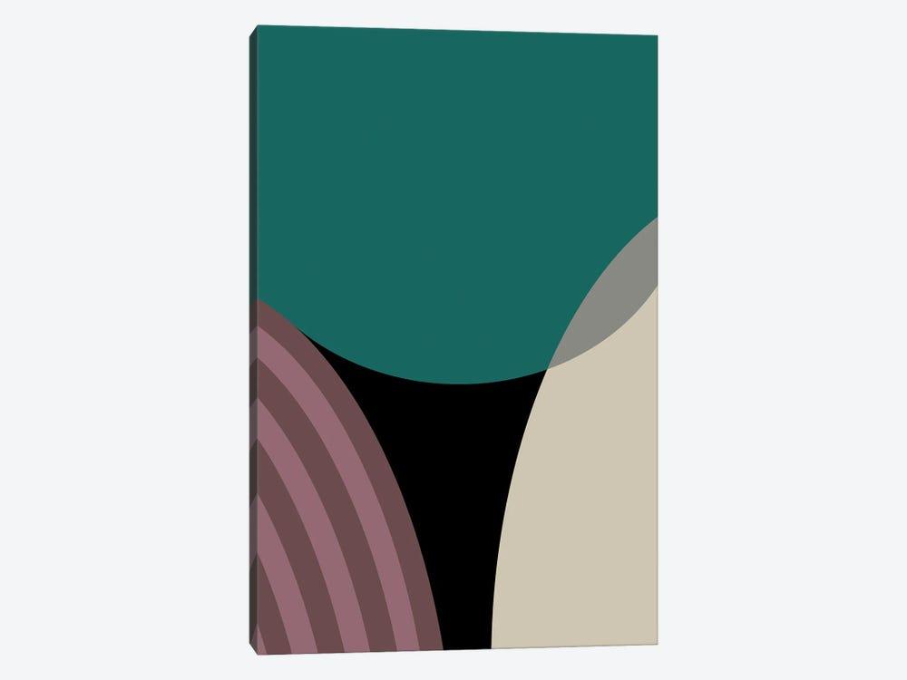 Meeting Of Semi Circles by Angel Estevez 1-piece Art Print