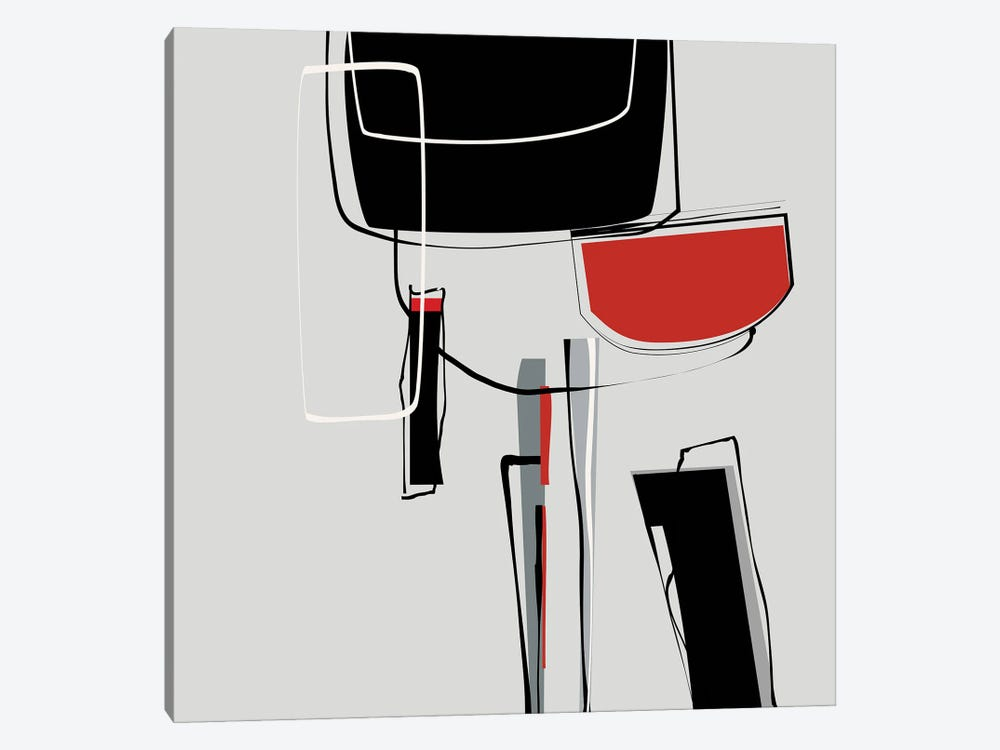 Loose Shapes by Angel Estevez 1-piece Canvas Art