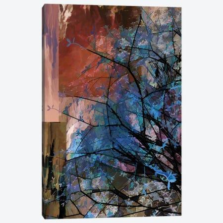 Blue Tree Canvas Print #AEZ13} by Angel Estevez Canvas Art