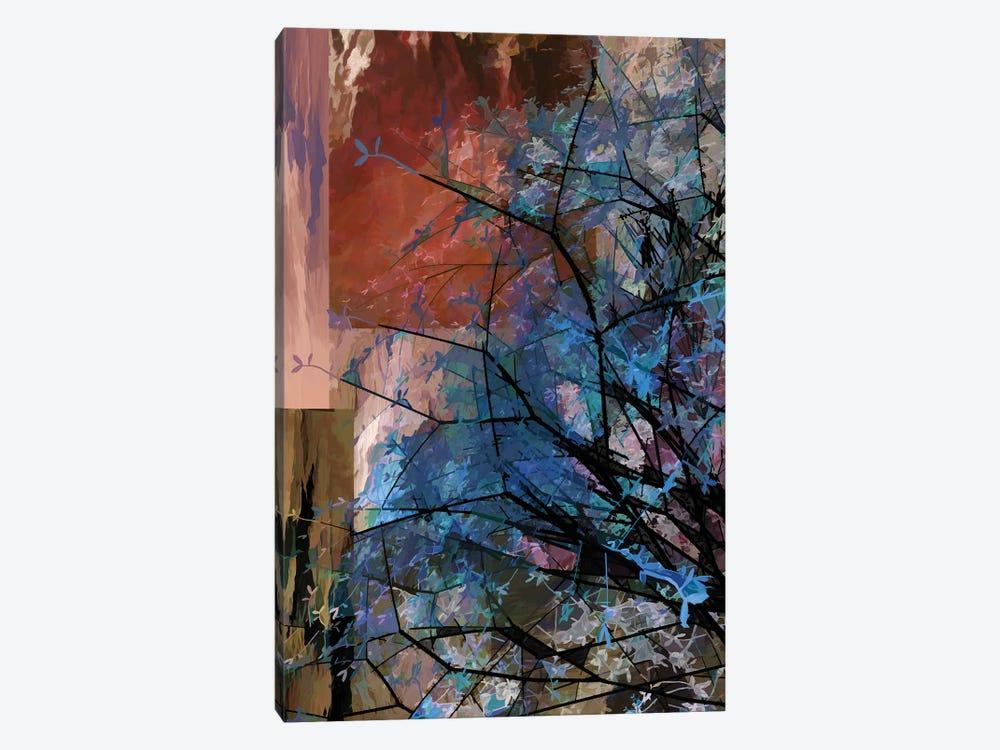 Blue Tree by Angel Estevez 1-piece Canvas Print