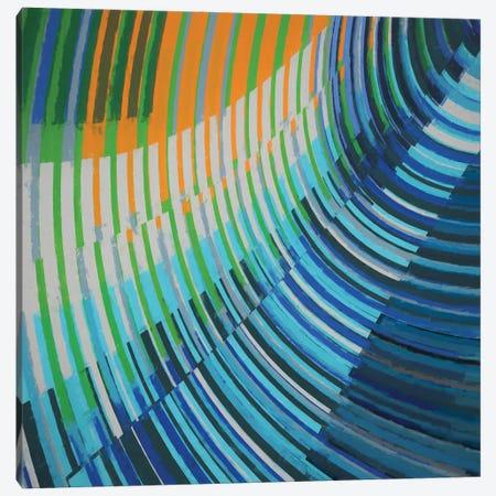 Curved Lines Canvas Print #AEZ143} by Angel Estevez Canvas Artwork