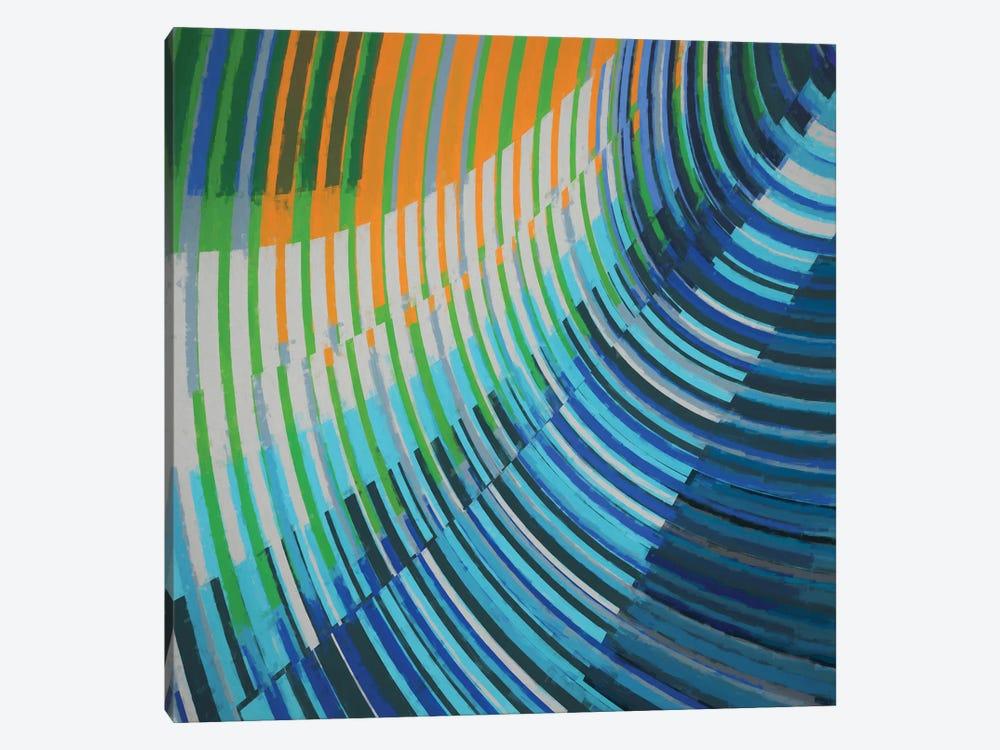 Curved Lines by Angel Estevez 1-piece Canvas Print