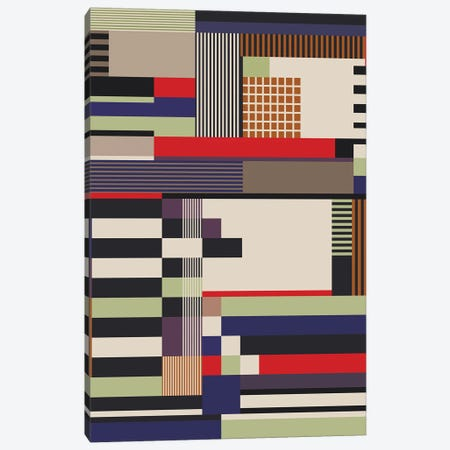 Lines,Squares And Rectangles Canvas Print #AEZ144} by Angel Estevez Canvas Print