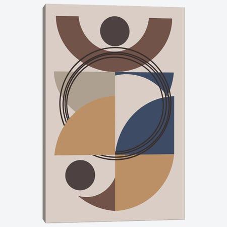 Harmony With Circles And Semi Circles 3-Piece Canvas #AEZ148} by Angel Estevez Canvas Art