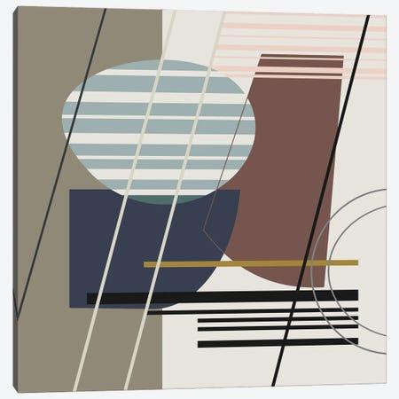 Overlapping Shapes Canvas Print #AEZ154} by Angel Estevez Canvas Art