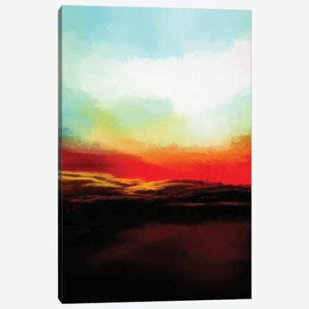 Beautiful Evening Canvas Print #AEZ157} by Angel Estevez Canvas Art