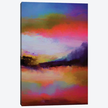 Mountains At Twilight Canvas Print #AEZ160} by Angel Estevez Canvas Art
