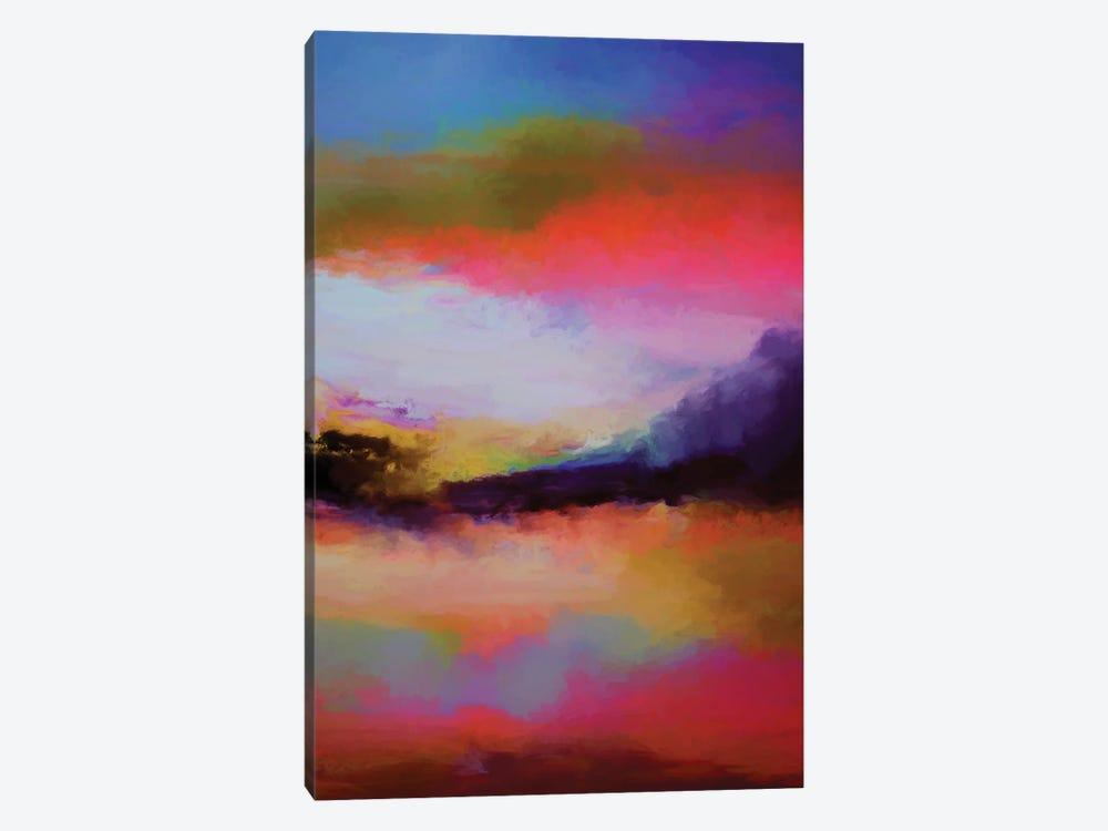 Mountains At Twilight by Angel Estevez 1-piece Canvas Artwork