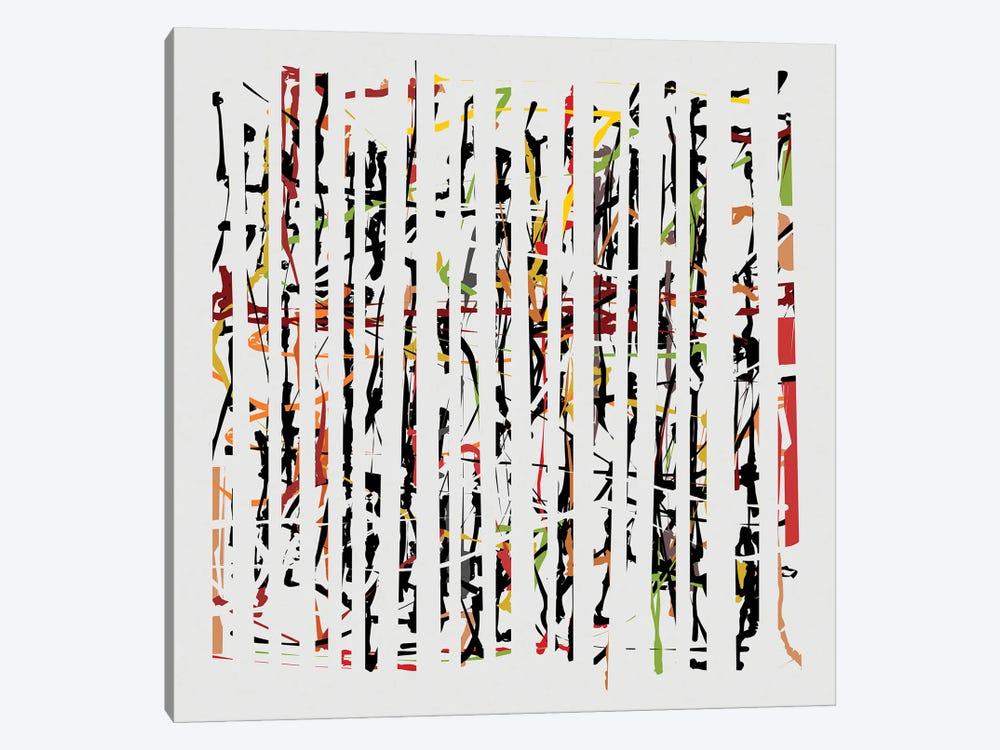 Between Cracks II by Angel Estevez 1-piece Canvas Art