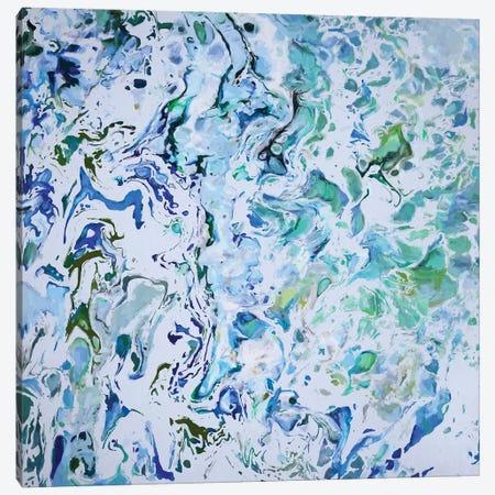 Blue Marble Canvas Print #AEZ167} by Angel Estevez Art Print