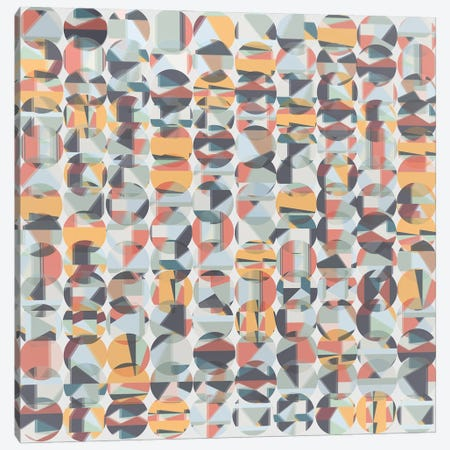 Colored Circles Canvas Print #AEZ169} by Angel Estevez Canvas Wall Art