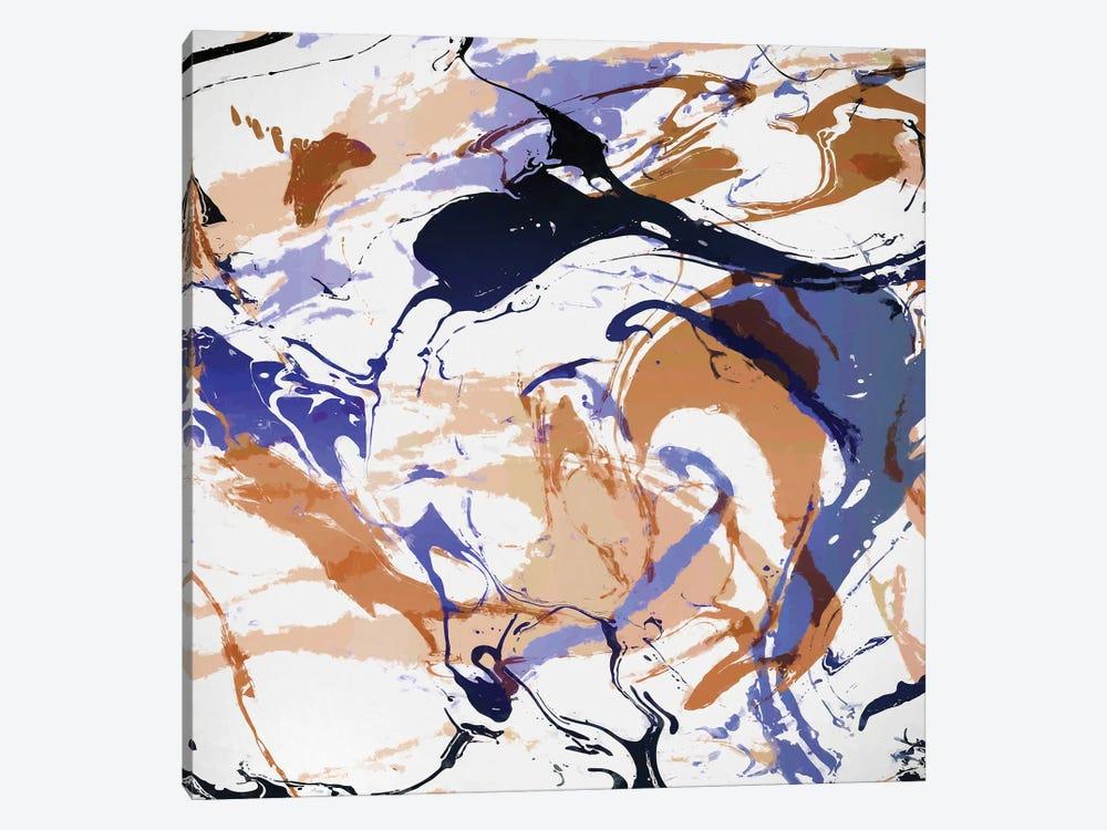 Fluid Forms by Angel Estevez 1-piece Canvas Wall Art