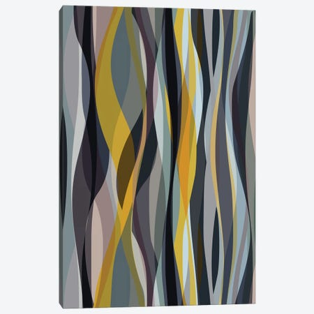 Interlaced Shapes Canvas Print #AEZ175} by Angel Estevez Canvas Artwork